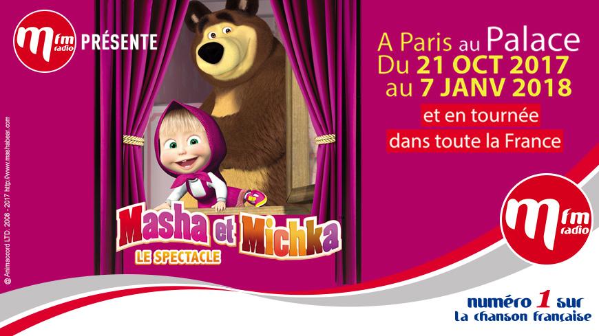 Gagnez vos invitations pour le spectacle Masha et Michka près de chez vous !