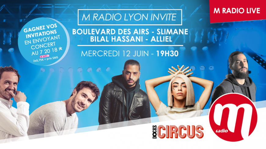 M Radio live Lyon