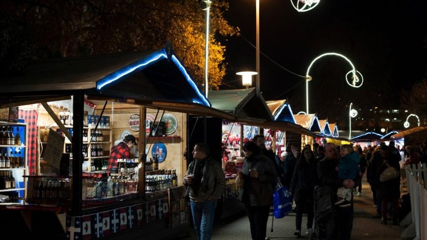 Marché de Noël de Lyon – place Carnot
