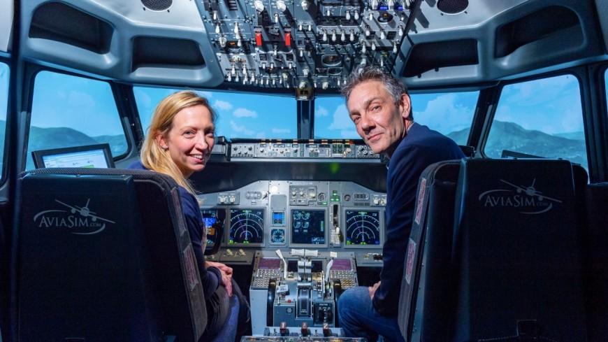 packs duo de simulateur de pilotage avec AVIASIM  Valeur d'un pack 169€