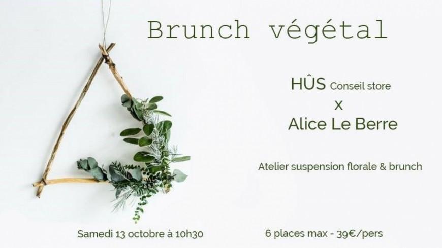 Brunch végétal - Hût conseil store x Alice Le Berre