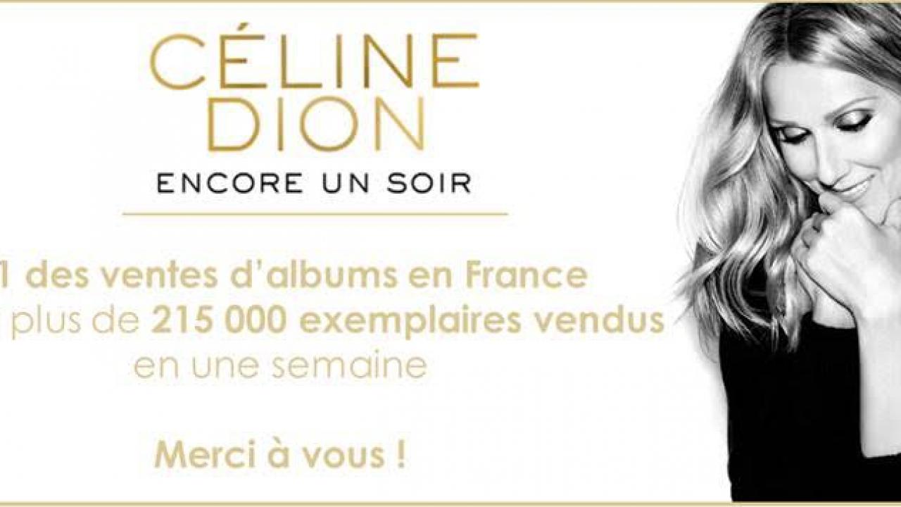 C line dion son dernier album bat des records - Vente privee celine dion ...