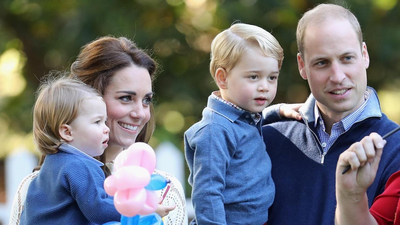 Фото детей уильяма и кейт