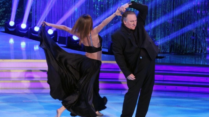 VIDEO. Gérard Depardieu dans Danse avec les stars