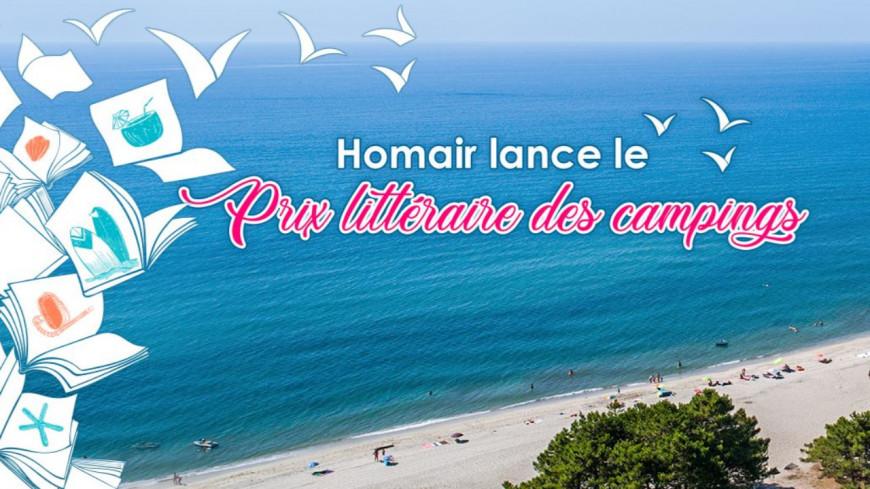 Homair Vacances lance la première édition du Prix Littéraire des campings !