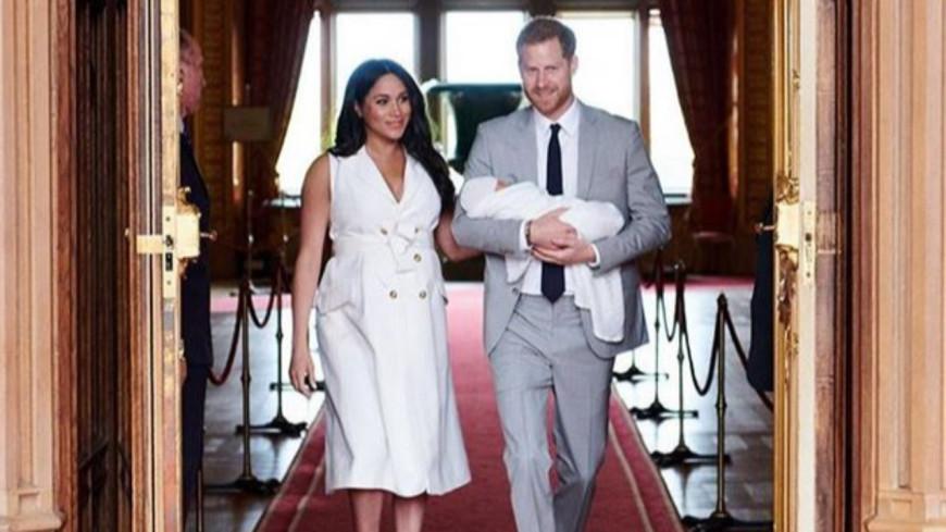 Meghan Markle dévoile un cliché de son bébé Archie Harrison !