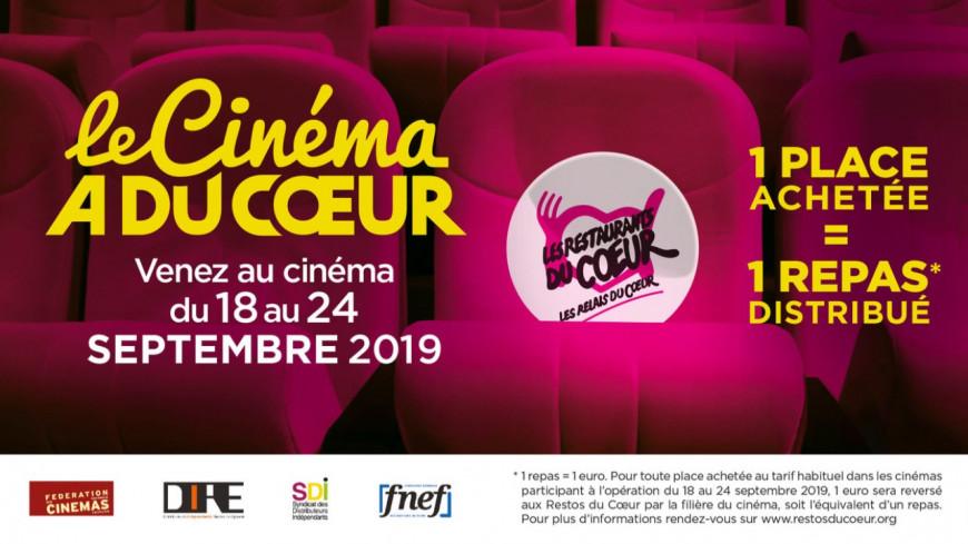 Aller au cinéma tout en aidant les Restos du cœur — Dordogne