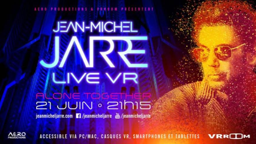 Quel est l'incroyable projet de Jean-Michel Jarre ?
