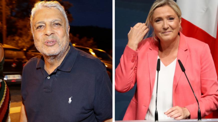 Enrico Macias se clashe avec Marine Le Pen