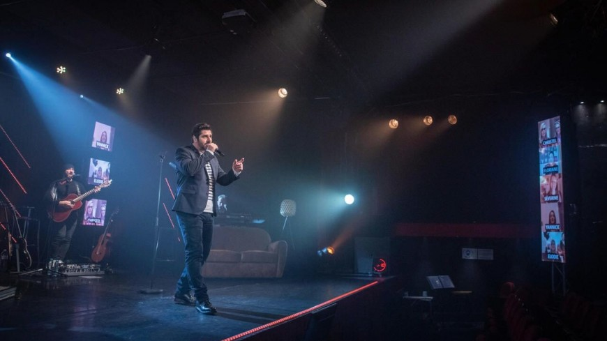 Patrick Fiori témoigne après son concert virtuel