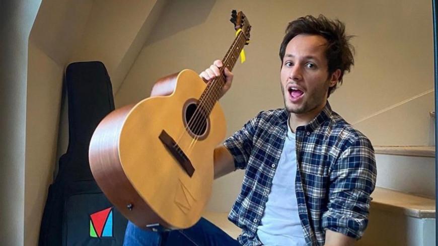 Vianney vous offre sa guitare !
