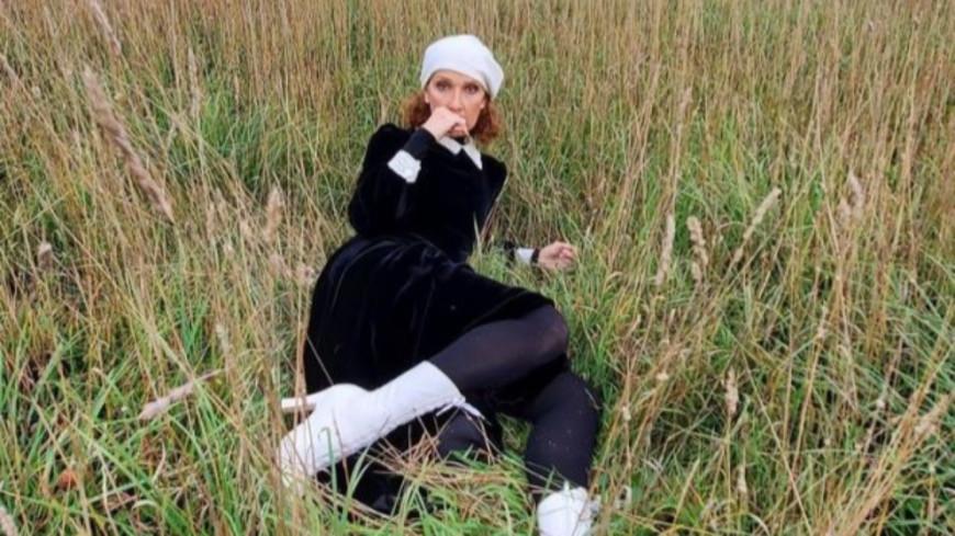 Céline Dion : toujours plus près de la nature !