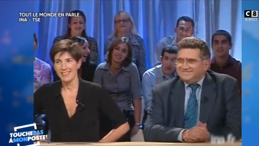Cyril Hanouna retrouve un clash entre Laurent Baffie et Christine Angot