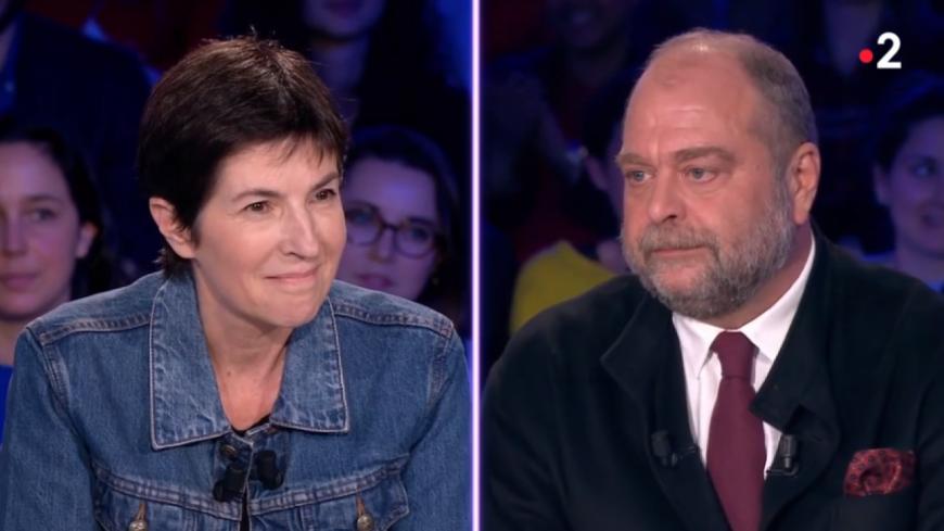 Échange très tendu entre Eric Dupond-Moretti et Christine Angot — ONPC