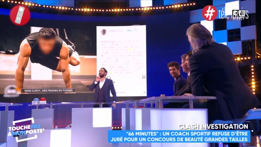 Gilles Verdez dévoile l'identité du candidat de télé-réalité apparu anonymement dans 66 minutes