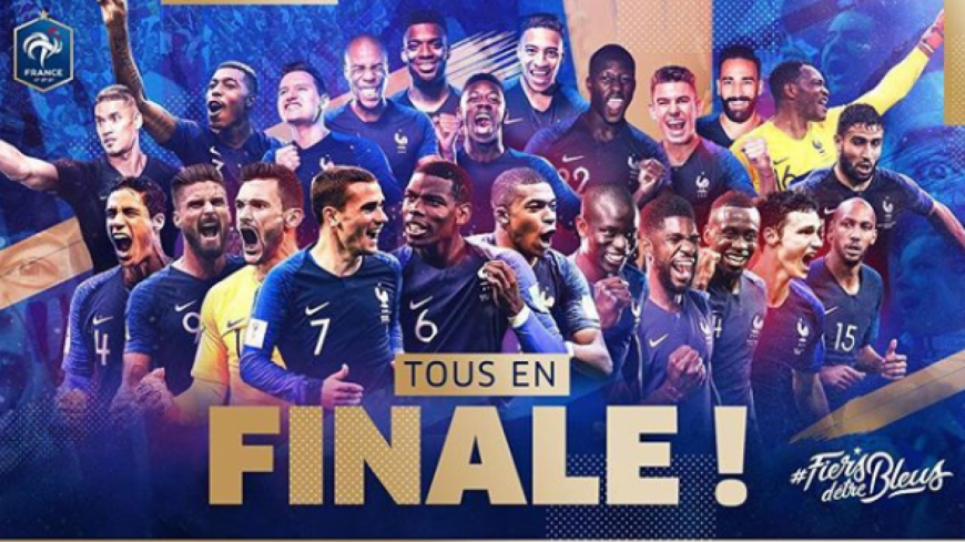 Les Bleus en finale: la France en pleine euphorie !