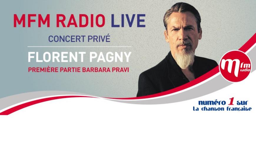 Florent Pagny en concert privé MFM Radio !