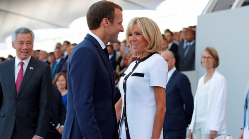 Brigitte Macron fait ses premiers pas d'actrice !