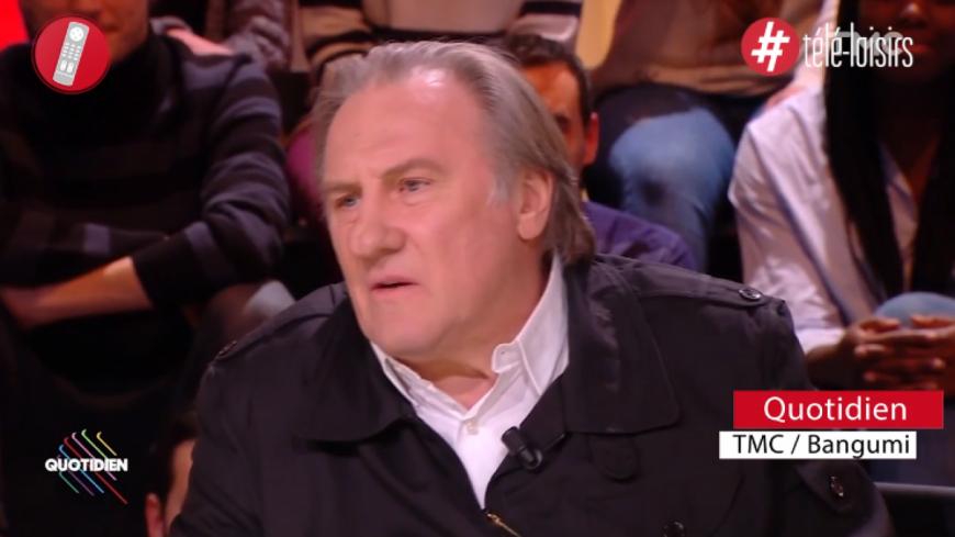 Gérard Depardieu détruit les politiques français