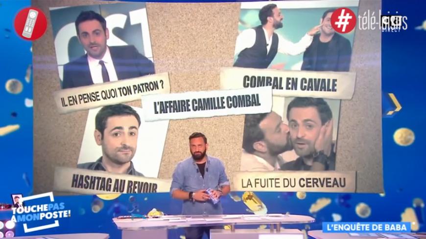 TPMP : Cyril Hanouna dévoile le futur de Camille Combal en direct