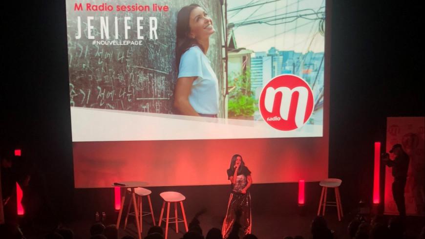Jenifer s'est confiée au M Radio session live
