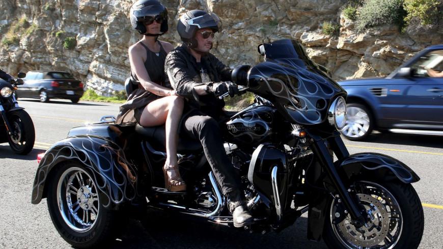 Sa myhtique Harley-Davidson mise en vente — Johnny Hallyday