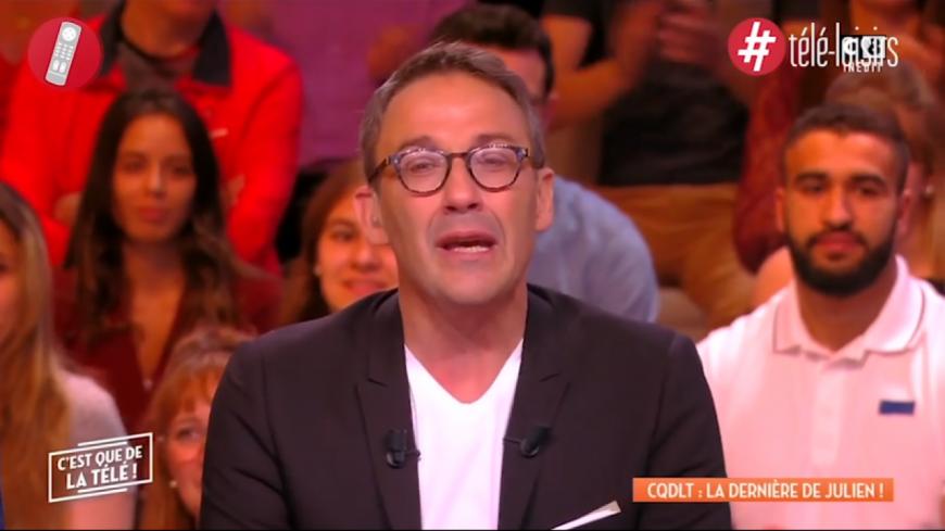 Julien Courbet en larmes pour sa dernière émission sur C8