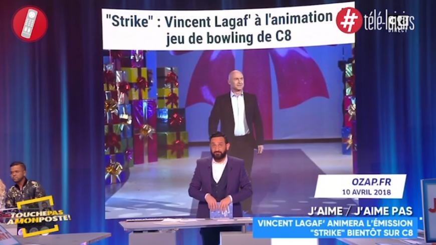 Vincent Lagaf', de retour avec un jeu de bowling
