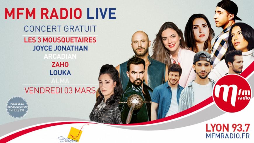 MFM Radio live arrive à Lyon