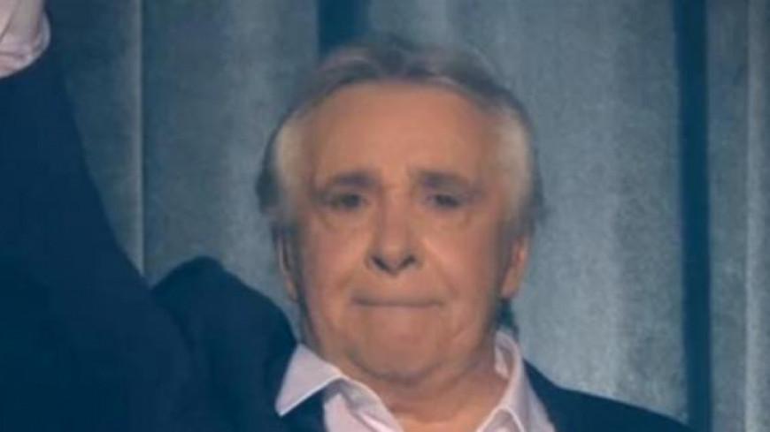 Michel Sardou au bord des larmes pour son dernier concert