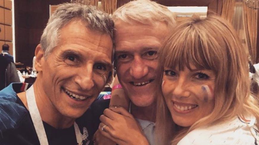Les Bleus en finale: Nagui, Iris Mittenaere, Vianney les stars laissent éclater leur joie