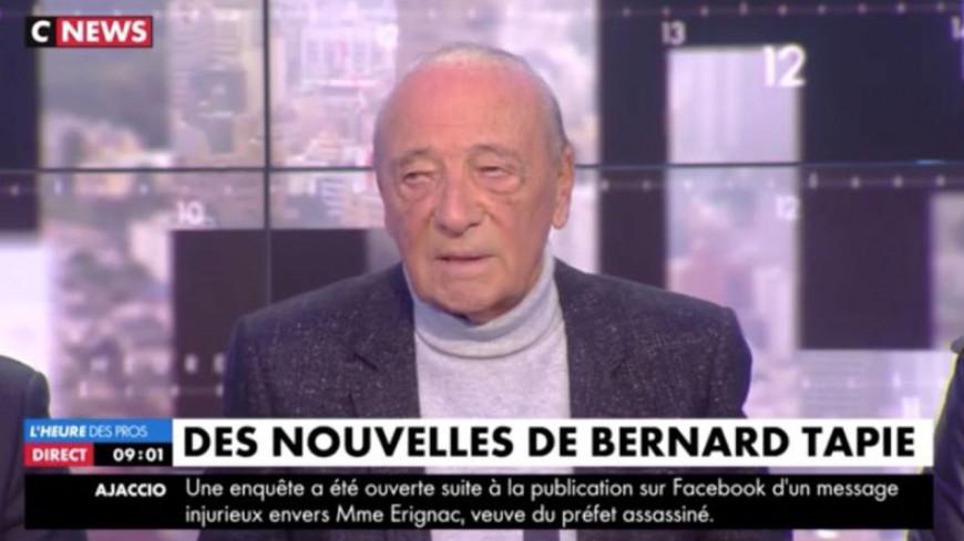Jacques Séguéla donne des nouvelles peu rassurantes de Bernard Tapie