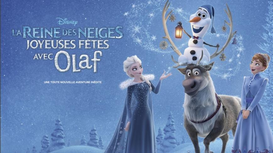 D couvrez la reine des neiges joyeuses f tes avec olaf - Ren des neige ...