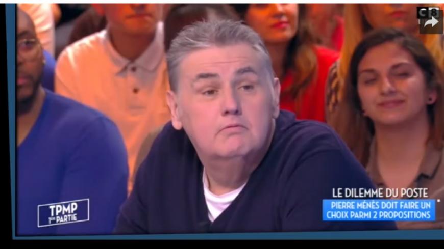 Pierre Ménès annonce son départ de Touche pas à mon poste !