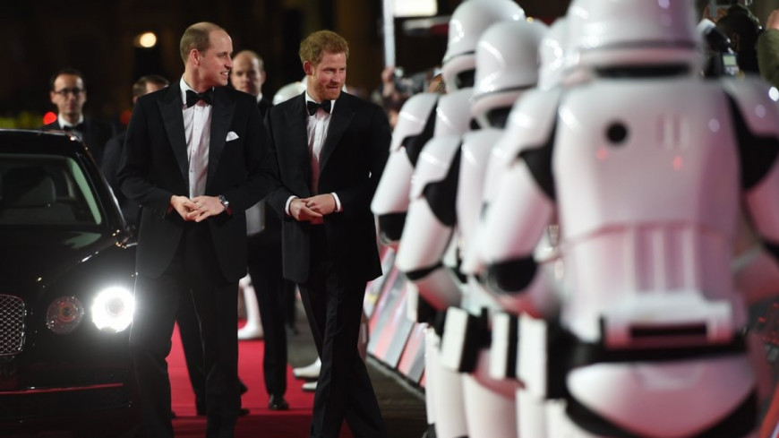 Harry et William, quand les princes interviennent dans Star Wars