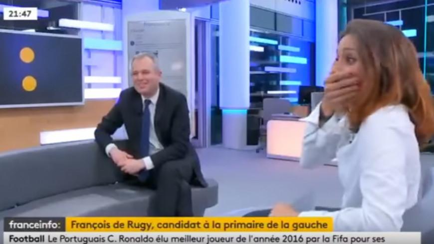(VIDEO) Le lapsus d'une journaliste : « Vous étiez sur la tombe de François Hollande »