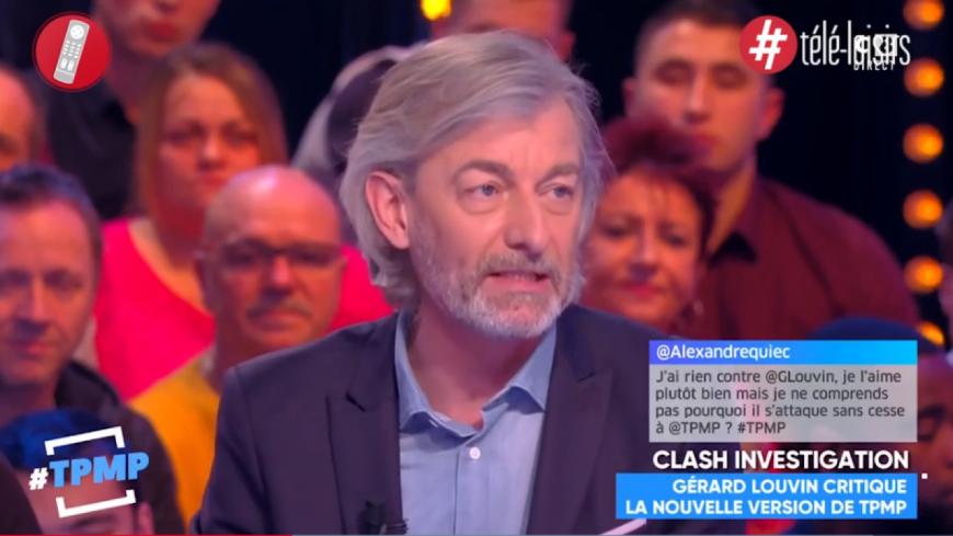 Gilles Verdez détruit Gérard Louvin après ses attaques contre TPMP