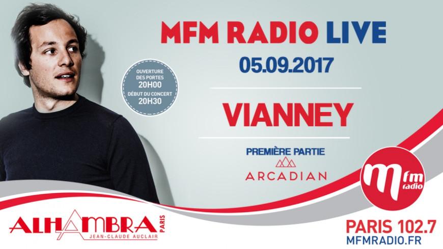 Revivez le MFM Radio de Vianney et d'Arcadian à l'Alhambra