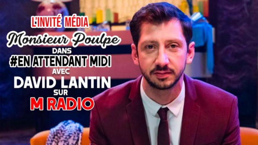"""Podcast En Attendant Midi """" L'Invité Média : Monsieur Poulpe """" du 06 Février"""