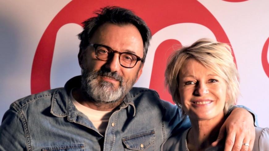 """Podcast """"Ravie De Vous Rencontrer"""" : Sophie DAVANT reçoit Frédéric Lopez"""