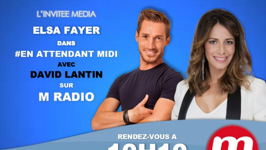 "Podcast En Attendant Midi "" L'Invitée Média : Elsa Fayer"" du 01 Avril"