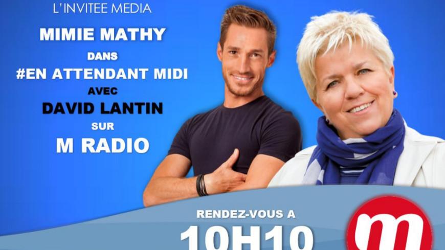 "Podcast En Attendant Midi "" L'Invitée Média : Mimie Mathy  "" du 08 Avril"