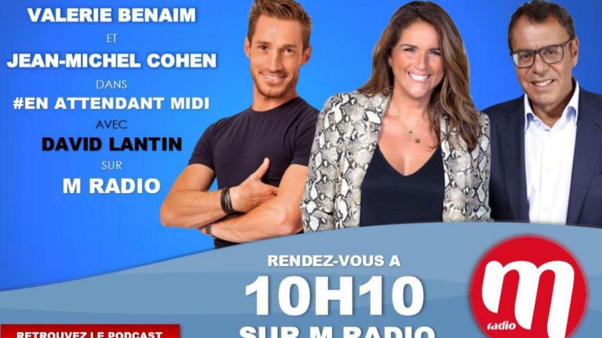 """Podcast En Attendant Midi """" Les Invités Médias : Valérie Benaim et Jean Michel Cohen  """" du 18 Mars"""