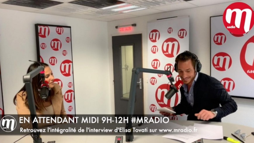 Podcast : Elisa TOVATI invité de David Lantin dans En Attendant Midi sur M Radio (10 Mai 2019)