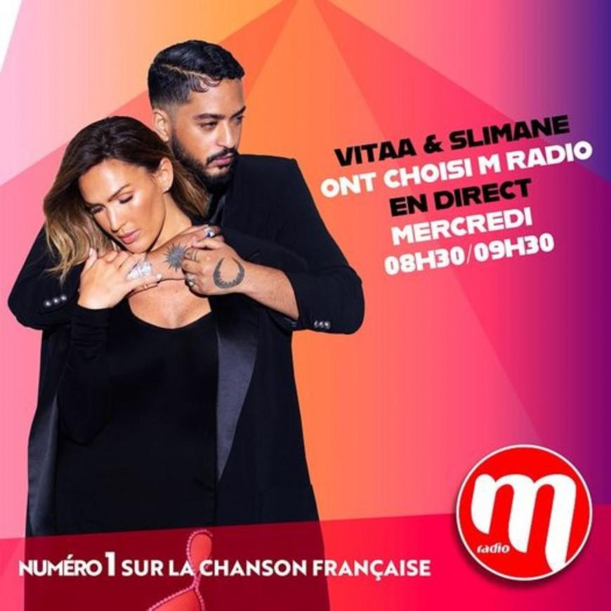 Vitaa & Slimane invités du M Radio Réveil