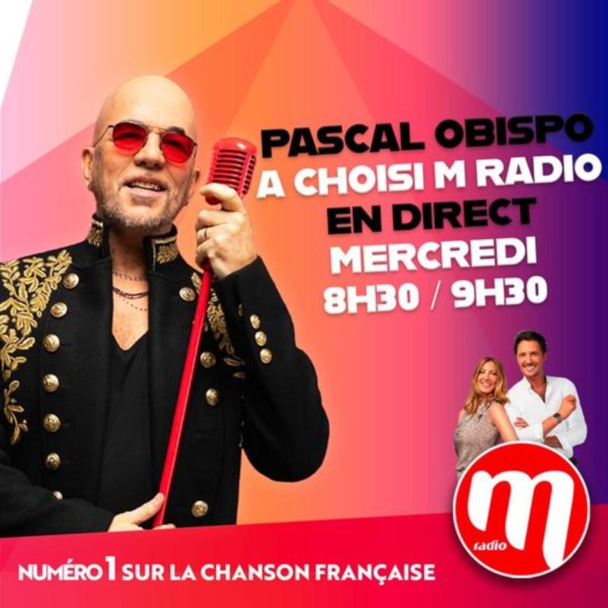Pascal Obispo invité du M Radio Réveil