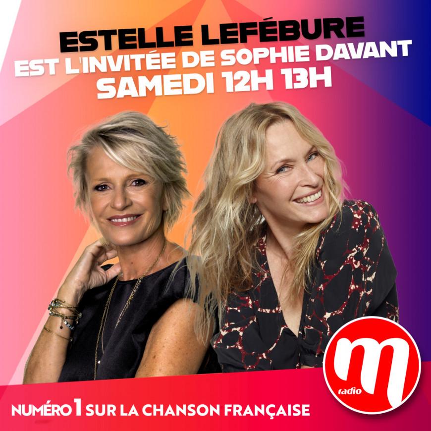Sophie Davant & Estelle Lefébure