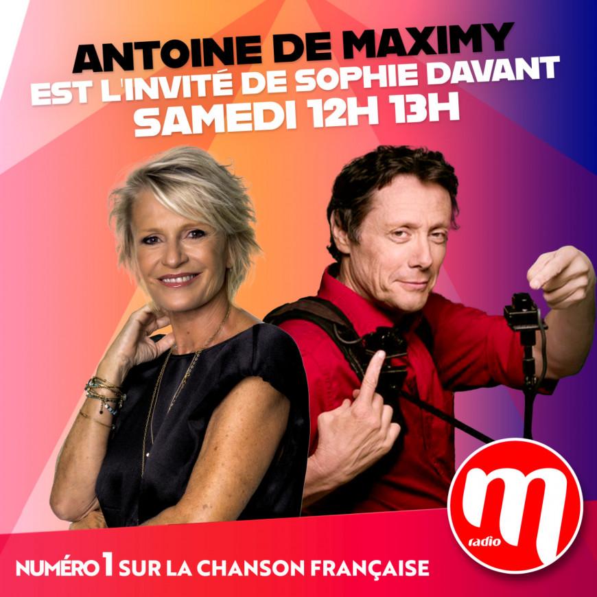 Sophie Davant & Antoine de Maximy