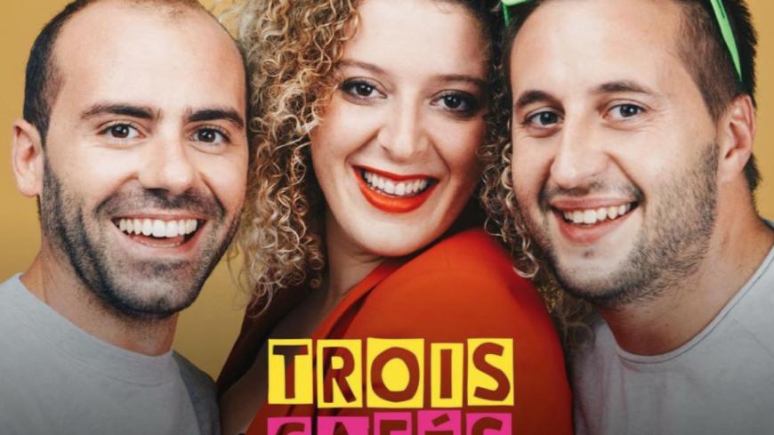 """Découvrez le nouveau titre  """"Comme des enfants"""" de Trois cafés gourmands !"""