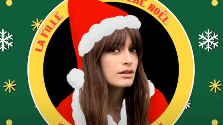 """Clara Luciani fête Noël avec """"La fille du Père Noël"""""""